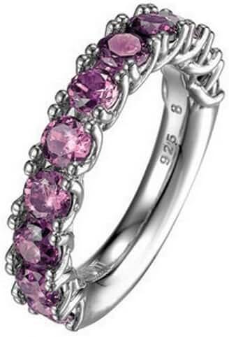 ESPRIT Women's Ring 925/1000 6.8 G Silver Zirconium Oxide P