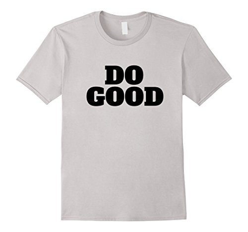 Mens Do Good T-Shirt - Unity Peace and Equality T-Shirt 3XL (Muslim Matters Halloween)