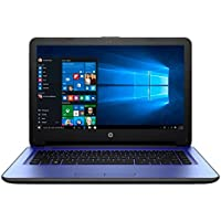 2017 HP Stream 14 inch HD Premium Flagship Laptop, Intel Celeron N3060 Core up to 2.48GHz, 4GB RAM, 32GB SSD, Bluetooth, Webcam, USB 3.0, Windows 10 Home, Purple (Certified Refurbished)