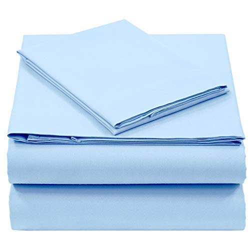 Pieridae Cotton Rich 4 Pc Sheet Set - Full, Forever Blue