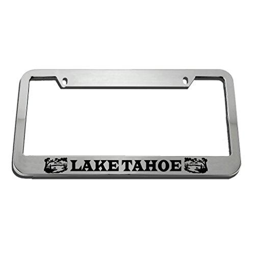 Speedy Pros Lake Tahoe License Plate Frame Tag Holder by Speedy Pros