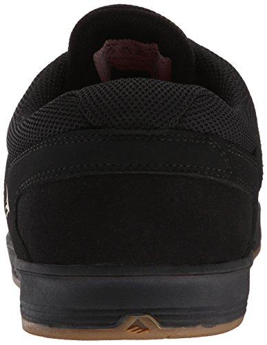 Emerica Westgate CC, Scarpe da Skateboard Uomo Nero (Noir (Black Black Gum 544))