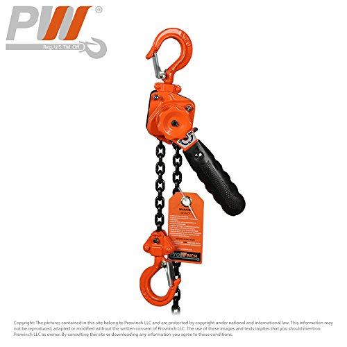 Mini Light Lever Chain Hoist 1/4 Ton G80 Chain Come Along 550 lb