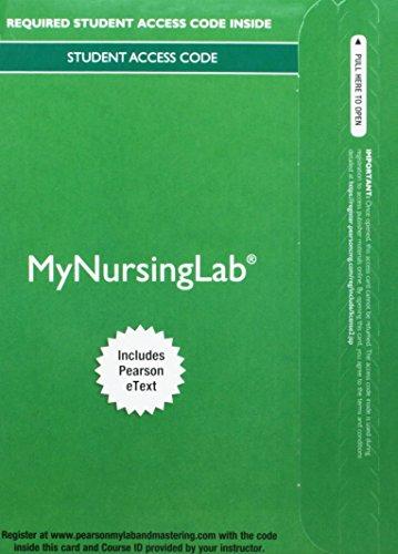Mylab Nursing With Pearson Etext    Access Card    For Kozier   Erbs Fundamentals Of Nursing  My Nursing Lab