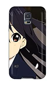 Durable Defender Case For Galaxy S5 Tpu Cover(azynyan K-on! Anime Other)