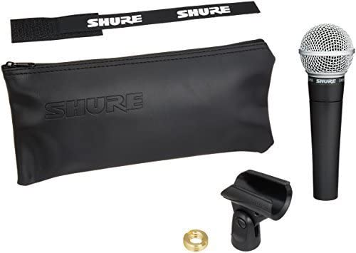 Shure SM58-LC Cardioid Dynamic Mic
