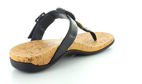 Thong Sandals Black beaded Women's Adelie Vionic 6ApFtYn