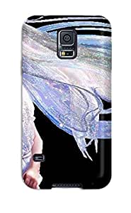 Ortiz Bland Premium Protective Hard Case For Galaxy S5- Nice Design - Cute Girl Animation