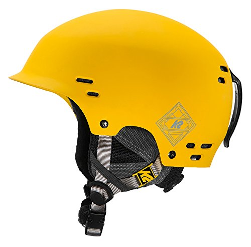 K2 Herren Thrive Yellow Skihelm