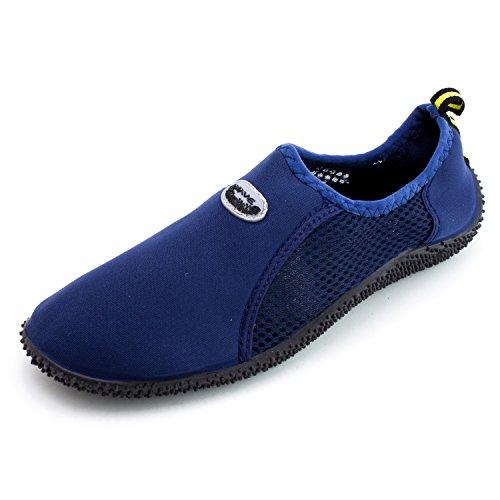 Piscina Para Mujer Al Aire Libre Pool Creek Aqua Water Zapatos (adults) Dk Blue-9