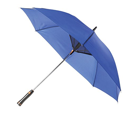 Folding Umbrella with Built-In Fan - Large 48