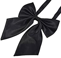 SYAYA Ladies girl Party Adjustable Pre-tied womens Bow Tie Solid Color Bowties for Women ties WLJ06