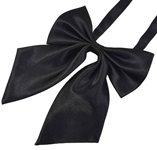 SYAYA Ladies girl Party Adjustable Pre-tied womens Bow Tie Solid Color Bowties for Women ties WLJ06
