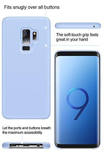 8dfe25df1bd9 Galaxy S9 Plus Case, TORRAS [Love Series] Liquid Silicone Gel Rubber  Shockproof Cover ...