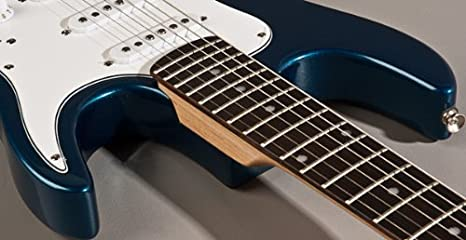 Nueva Axl metálico azul Junior JR 3/4 tamaño guitarra eléctrica ...