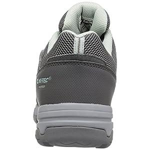 Hi-Tec Women's Bandera II Low Waterproof Hiking Shoe, Charcoal/Cool Grey/Lichen, 9 D US