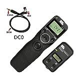 Pixel TW-283/DC0 Wireless Shutter Release Remote Control for Nikon DSLR Digital Camera D800 D810 D850 Series 1D Series 2D Series 300 Series D700 D500 D200 D4 D5 N90s F5 F6 F100 F90 F90X D3s