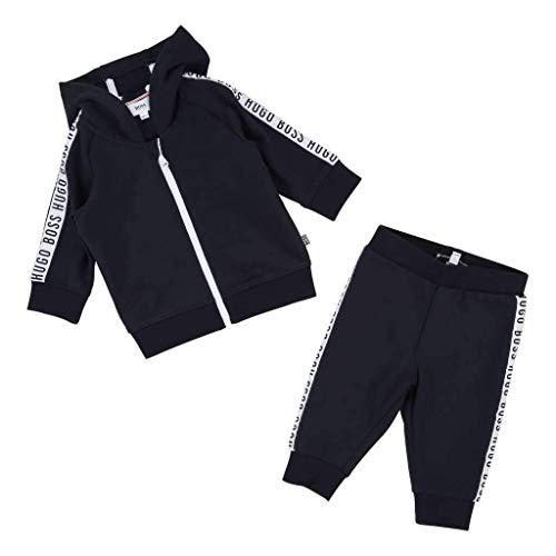Hugo Boss Kids Navy Cardigan Suit