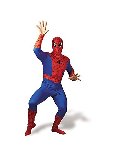 Spiderman Costume - Adult Costume Size: Adult Costume,42-46