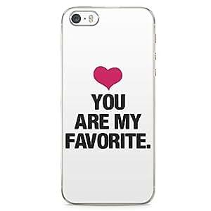iPhone 5S Transparent Edge Phone case Love Phone Case Favorite Phone Case Inst Phone Case Like iPhone 5 Case with Transparent Frame