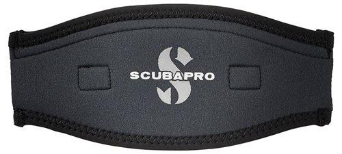 ScubaPro Neoprene Mask Strap Cover (Black / Black)