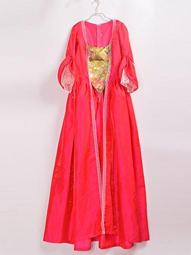 Gr Linie A BLESSUME Damen Kleid Rot 6z5qI