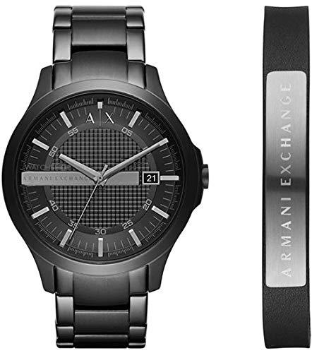 f1016bf17a76 Armani Exchange Reloj Analógico para Hombre de Cuarzo con Correa en Acero  Inoxidable AX7101  Amazon.es  Relojes