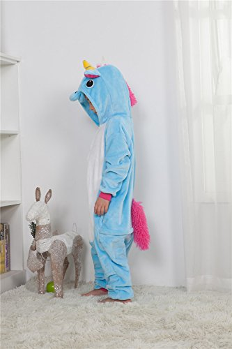 Pajama Halloween Unicorn di Costume Anime Missley children Costume Blue Cosplay Adult OTw5pfq