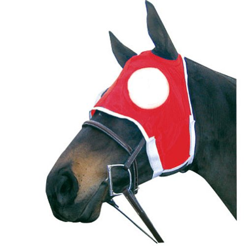 Intrepid International Full Cup Blinker Hood, Red