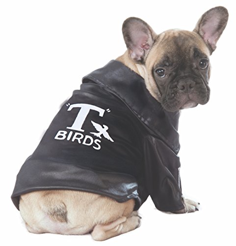 - Rubie's Grease 40th Anniversary Pet T-Birds Jacket, Large