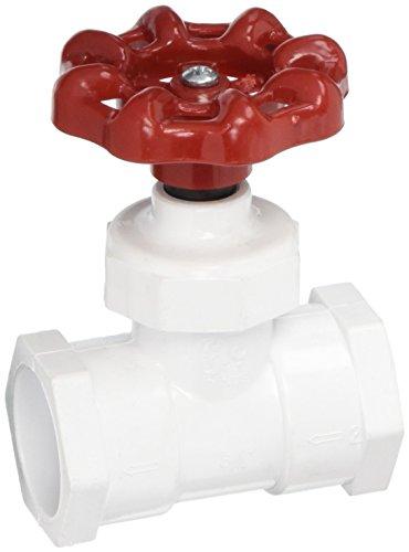 NDS SCP-0750-S 3/4-Inch Slip PVC Stop Valve Socket, White ()