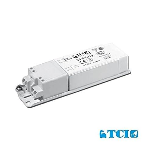 TCI 50 Str/12 transformador mecánico baja tensión 12 V Bombillas LED y halógenas: Amazon.es: Iluminación