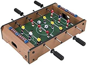 Tabletop Foosball - Juego de sobremesa de futbolin.: Amazon.es ...