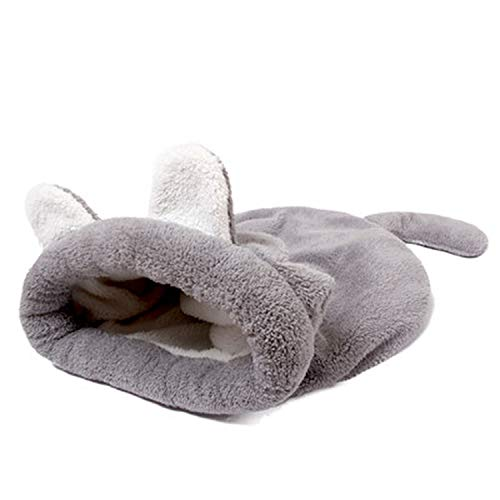 Winter Warm Slippers Style Dog Bed Pet Dog House Lovely Soft House Bed for Cat Dog Soft Kennel,Gray,M,China
