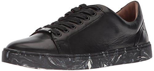 FRYE Women Ivy Low Lace Metallic Black
