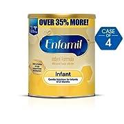 Enfamil Infant Formula, Powder 30 oz Can - Pack of 4