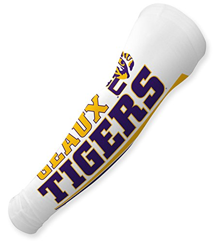 FanSleeves LSU Tigers Sports T Shirt Addition Golf & Baseball Sun Sleeves (Lsu Tailgate Golf)