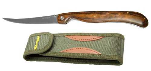 Sarge-Knives-SK-131-Folding-Fillet-Knife-with-5-78-Inch-Stainless-Steel-Blade-and-Pakkawood-Handle