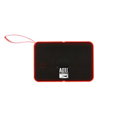 Altec Lansing IMW120 Solo Motion Portable Bluetooth Wireless Speaker (Red)