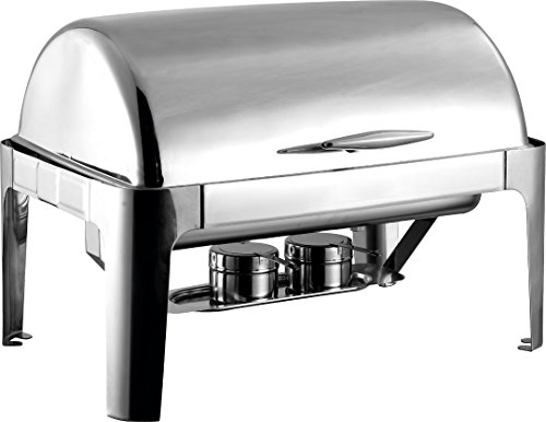 8 Quart Chafer (8qt full size stainless steel roll top chafer)