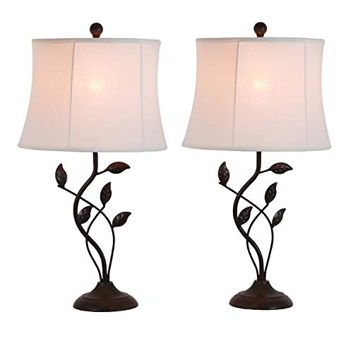 Décor Therapy MP1656 Olivia Lamp, Painted Bronze