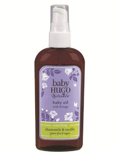 BabyHugo Baby Oil - Vanilla & Chamomile Hugo Naturals 4 oz Oil by Hugo Naturals