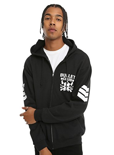New Japan Pro-Wrestling Bullet Club Logo Hoodie by Hot Topic