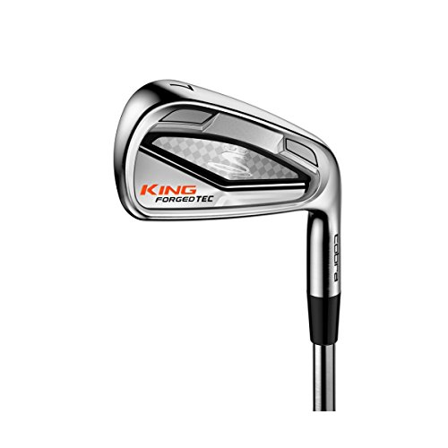- Cobra 2016 King Forged Tec Iron Set (Men's, Right Hand, Steel, Reg Flex, 4-GW