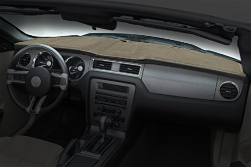Coverking Custom Fit Dashcovers for Select Ford Bronco Models - Poly Carpet (Beige)