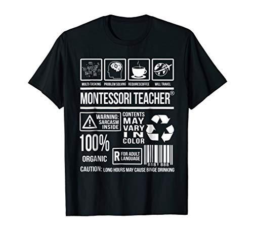 Montessori Teacher TShirts