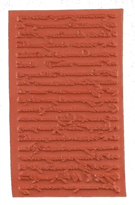 (Crafty Individuals French Script Unmouted Rubber Stamp)
