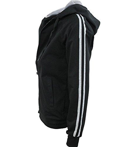 Girogama - Sudadera con capucha - para mujer negro