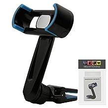 IWIO Black / Blue Phone Air Vent Clip 360 Degree Holder Car Mount Cradle for LG G4 H815