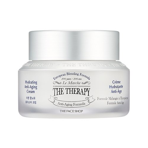 The Face Shop The Therapy Anti-Aging Cream, 50ml/1.69 US fl.oz.
